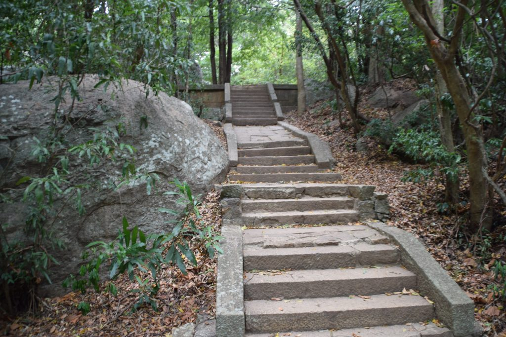 Ritigala Forest Monastery. Top secret