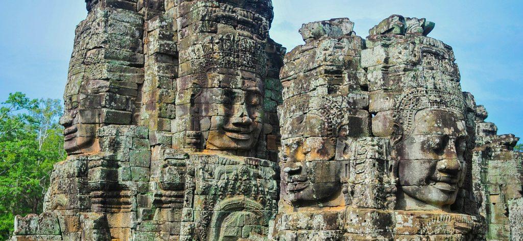 Maravillas del mundo en peligro de extinción. Templo de Bayón.