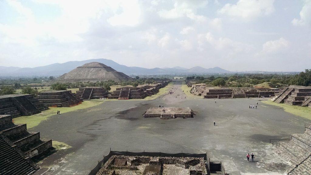 Maravillas del mundo en peligro de extinción. Teotihuacán.