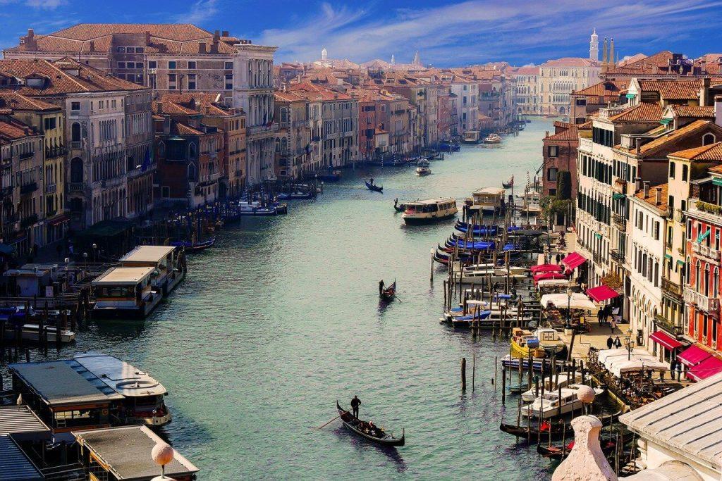 Maravillas del mundo en peligro de extinción. Venecia.